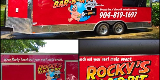rocky's trailer graphics