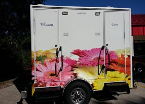 lovely loo vehicle wrap