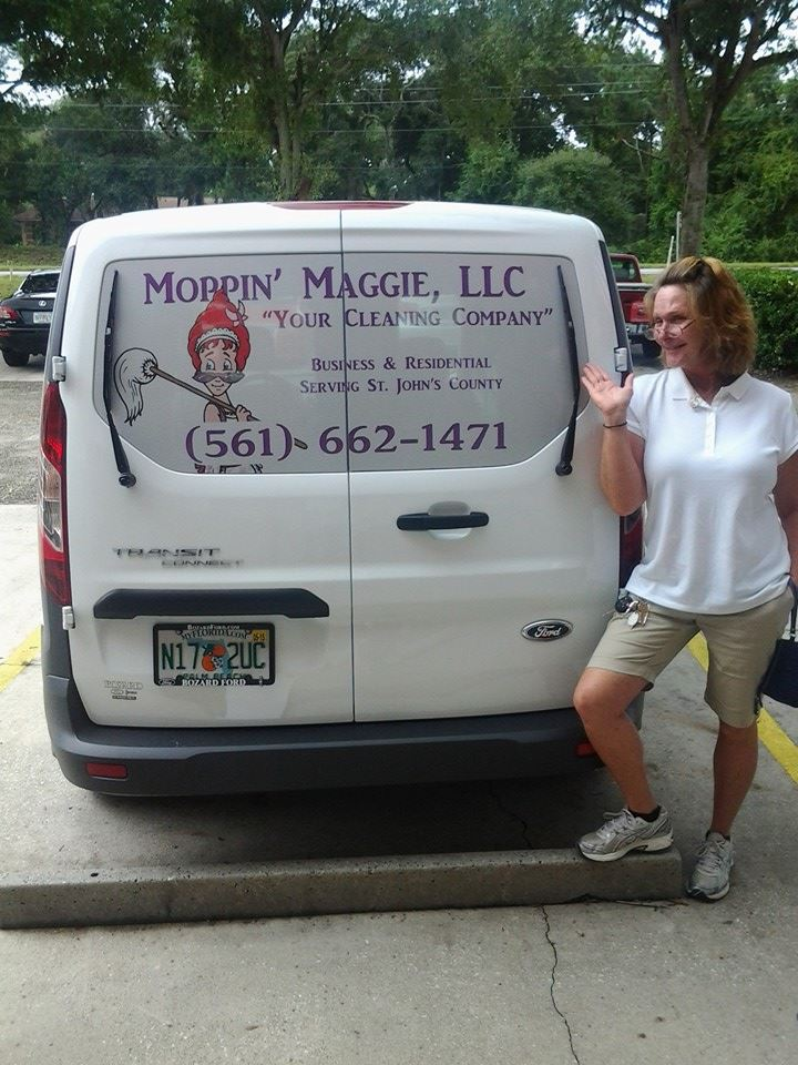 Moppin' Maggie Window Perf