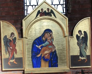 Triptych - Blessed Virgin Mary
