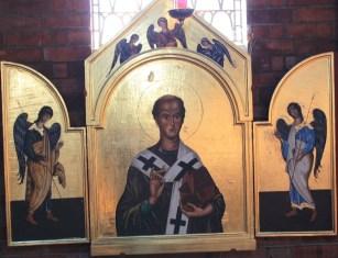 Triptych - St Augustine