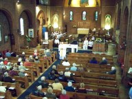 Service to celebrate the 100th anniversary of the consecration of the church - Bishop Mike Hill preaching