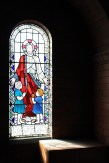 Stained glass - Jesus and the Children, in the North Choir aisle