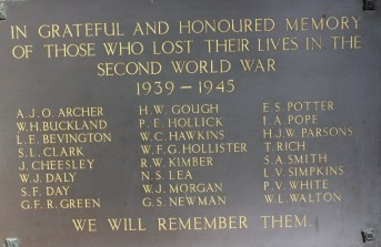 War Memorial - World War 2