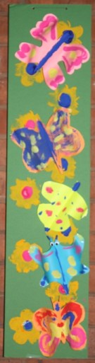 Butterfly Panels - made by the congregation