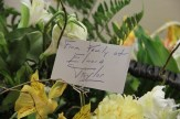 Worthington Christian Village Visit: Funeral Flowers of Dear Friend