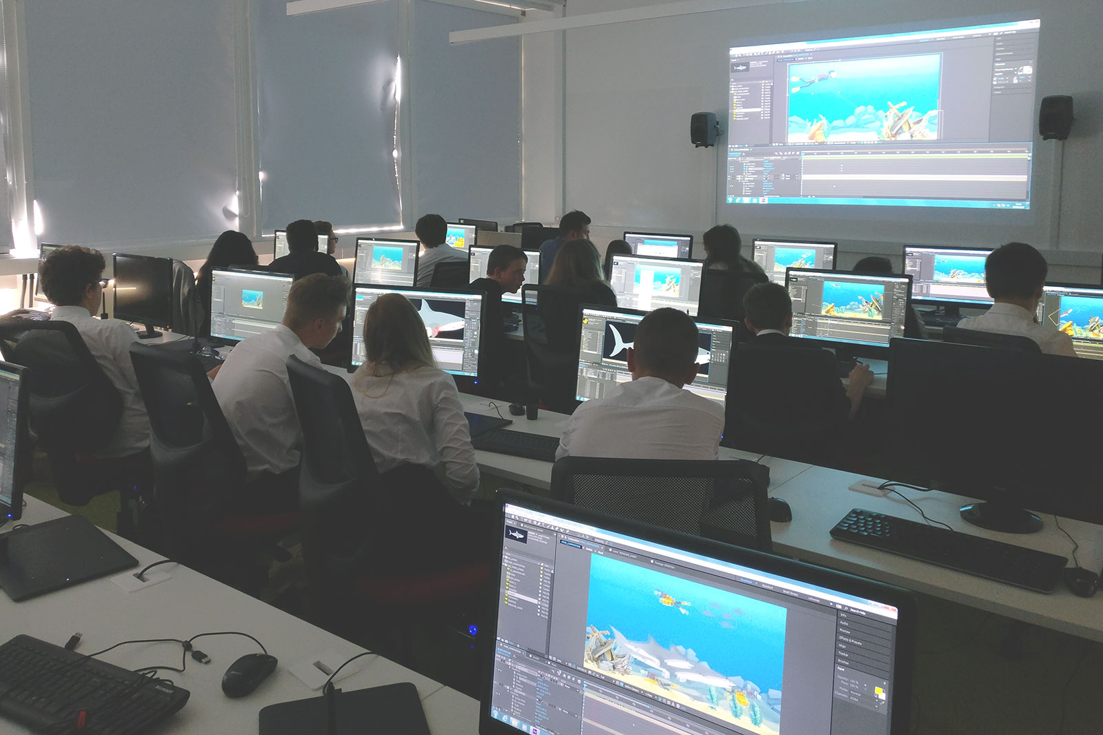 IT4U 2017 workshop on computer animation