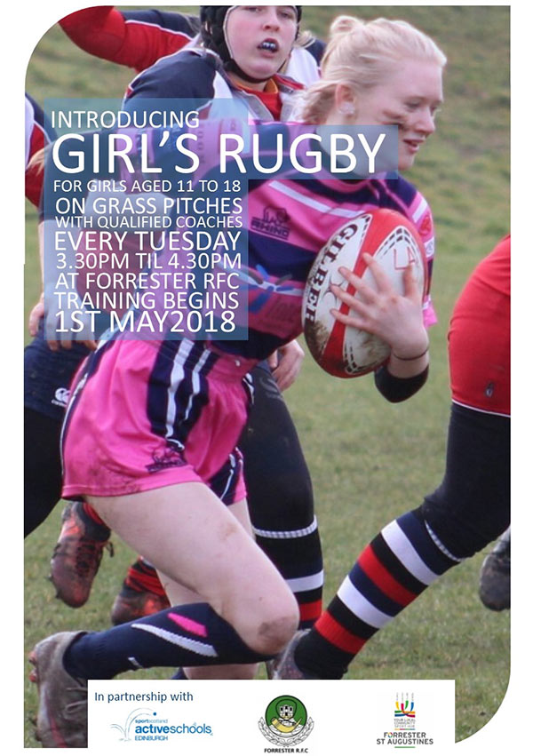 Girls Rugby Flyer