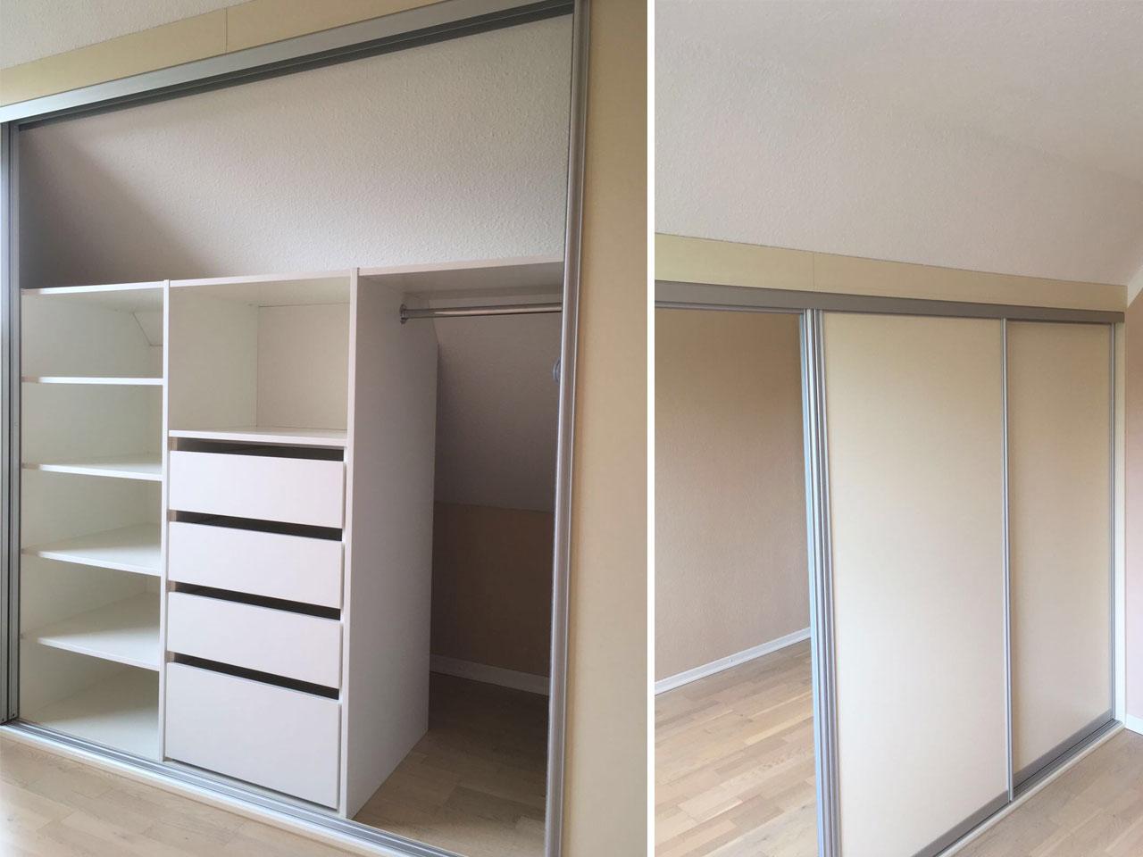 schrank unter dachschr ge smartstore. Black Bedroom Furniture Sets. Home Design Ideas