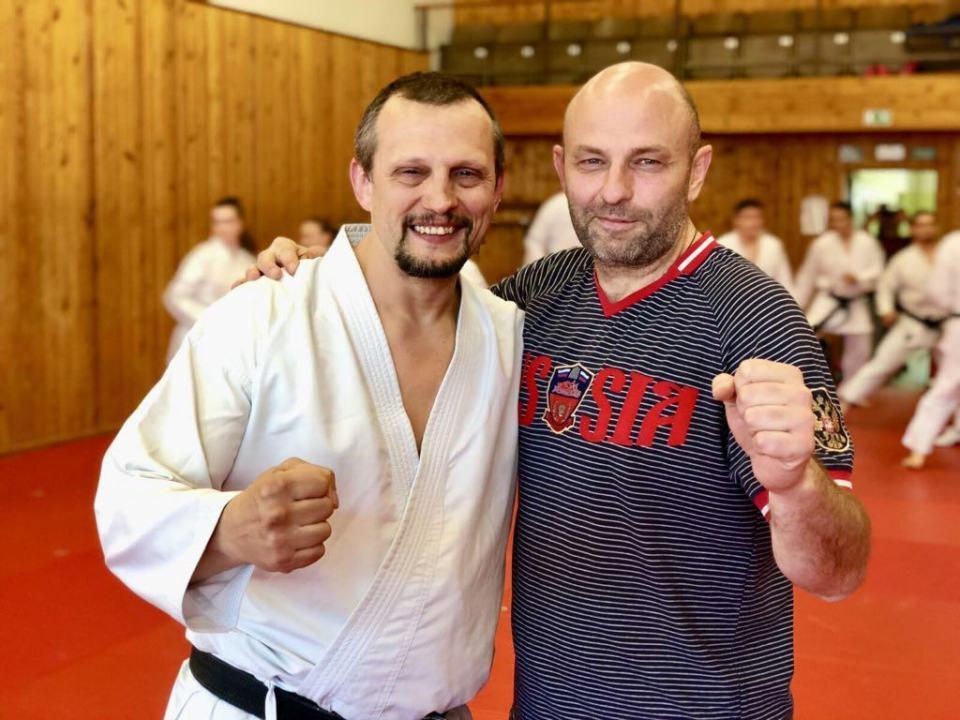 Рихард Ружечка и Виктор Мащенко