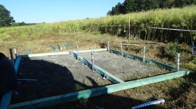 Příprava umístění zemních vrutů