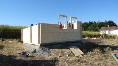 Skládání zahradního domku