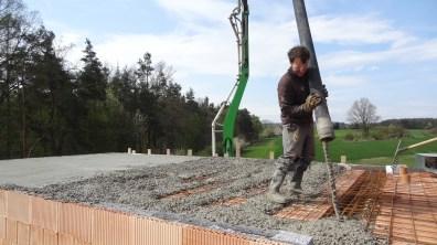 Betonování s čerpadlem na beton