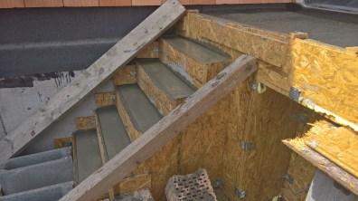 Vybetonované schody