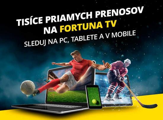 Fortuna TV live stream