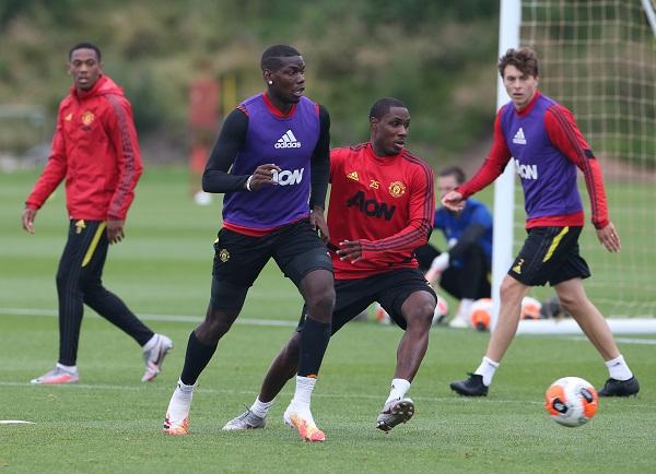 Manchester Utd. trening