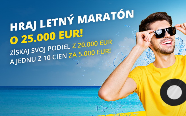 Letný maratón Fortuny
