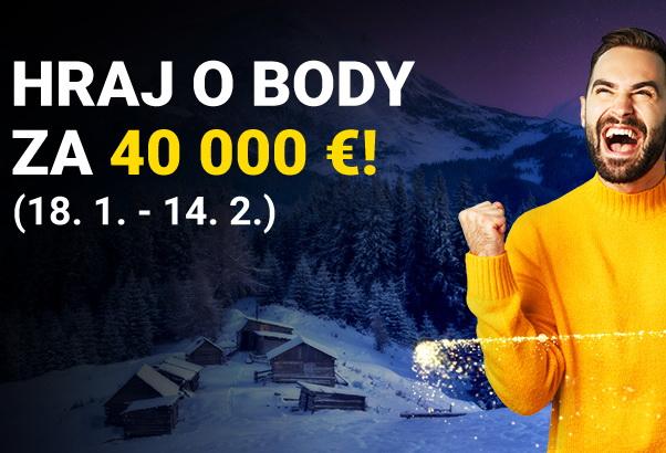 Atraktívna súťaž na Fortune o ceny za €40,000!