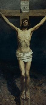 Otto Ludvig Sinding (1842-1909) Crucifixion