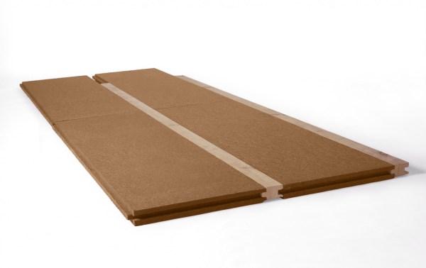 Dřevovláknitá izolace, STEICO floor