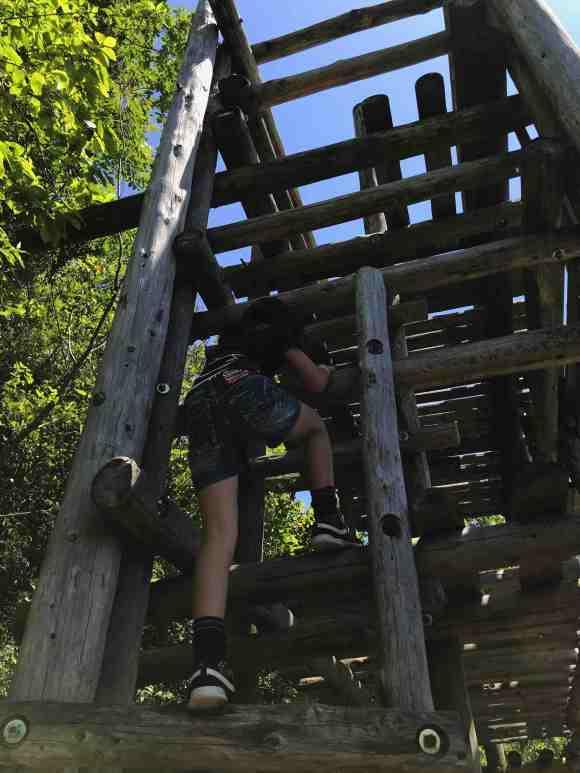 ロマンの森共和国 フィールドアスレチック 櫓