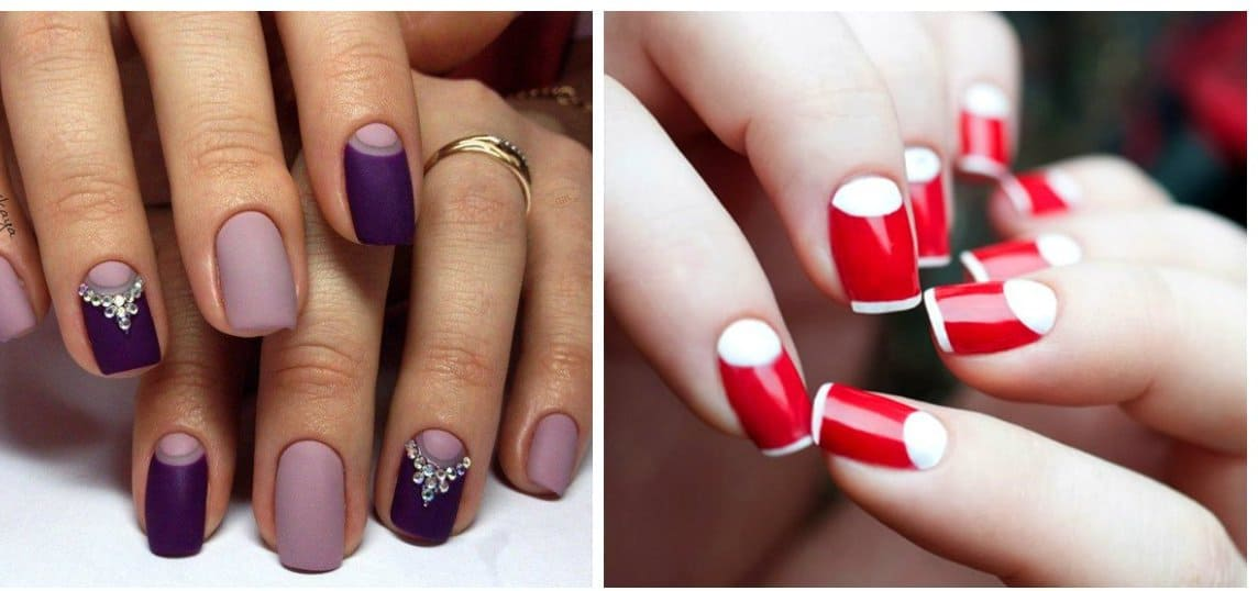 Popular nails 2018: fashion of trending nail designs and