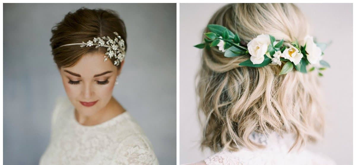 Wedding hairstyles 2018: stylish trends and ideas for