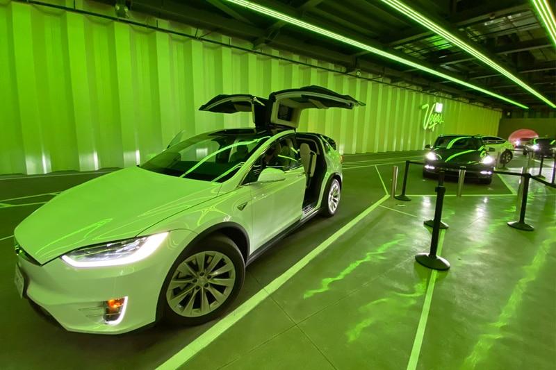 Elon Musk's Las Vegas Tunnel Transportation System Approved