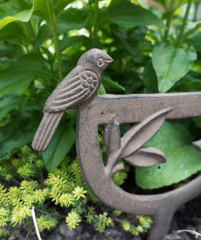 Metal bird spike
