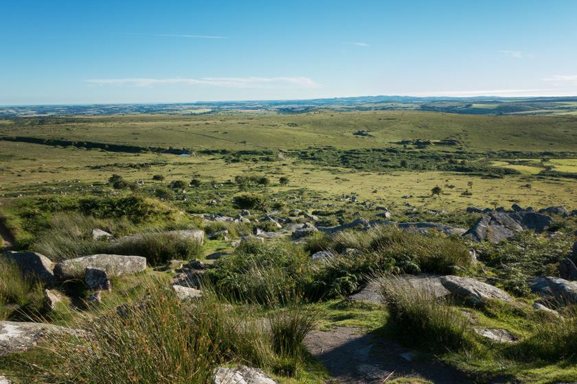 Views over Bodmin Moor