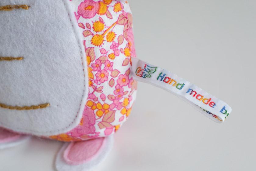 Rainbow handmade tag