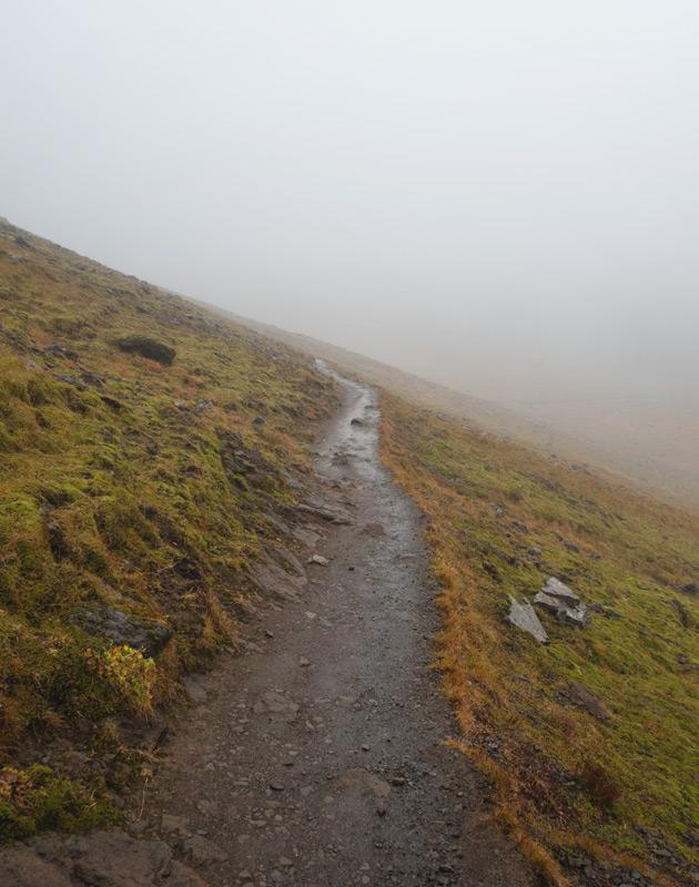 Esja hiking trail