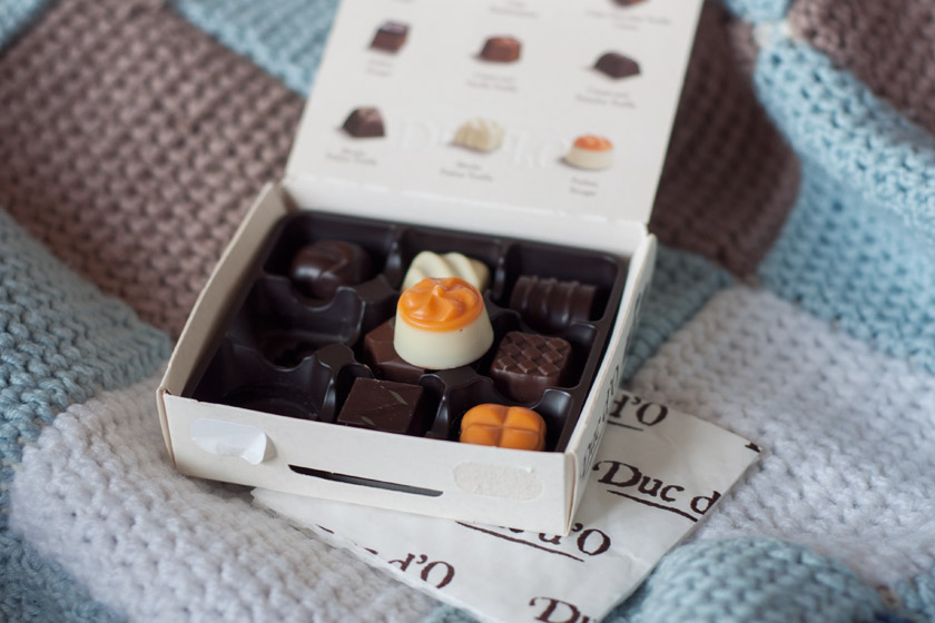 Duc d'o chocolates
