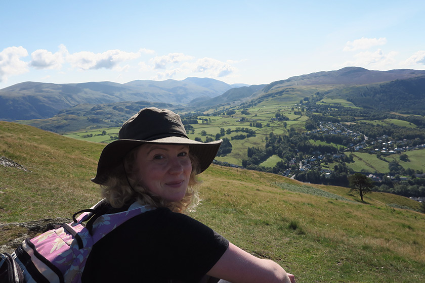 Me on the Latrigg summit