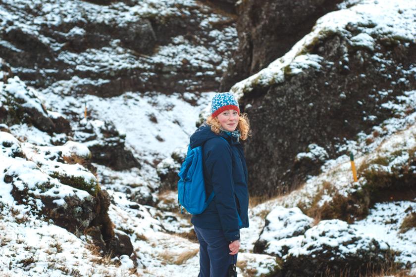 Me in rocky terrain
