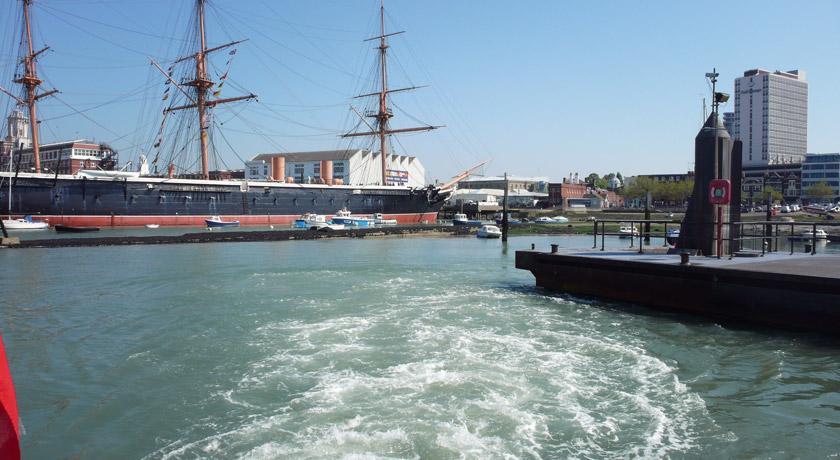 Portsmouth coastline