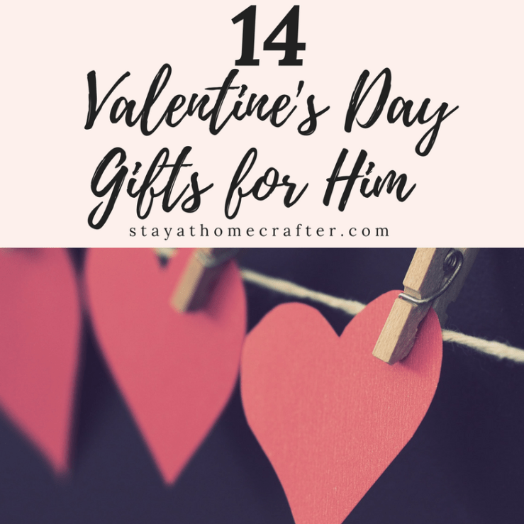 14 Valentine's Day Gift Ideas for Him. Lots of great unique gift ideas for him! Repin now for later!
