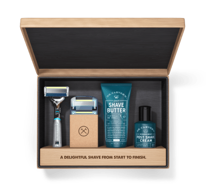 Dollar Shave Club is the perfect Valentines Day gift idea for any man. Take the guesswork out of shaving, with high quality products automatically delivered monthly.