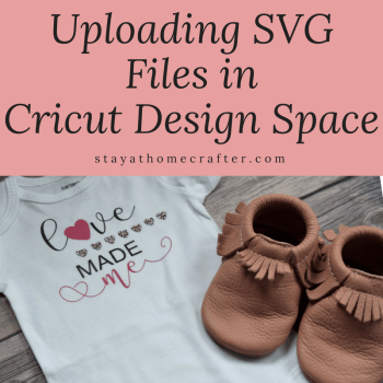 One of the best features of the Cricut is the ability to create (or find) your own files and upload them into Cricut Design Space. Here is a step-by-step guide to upload and cut your own SVG files and images in Cricut Design Space. Learning to upload your own files opens lots of doors for all the crafty projects you can create! Repin now for later!