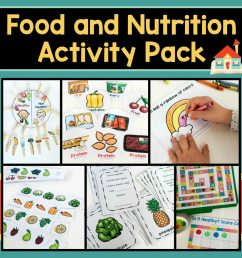 How to Teach Healthy Eating with a Preschool Nutrition Theme [ 1000 x 1000 Pixel ]