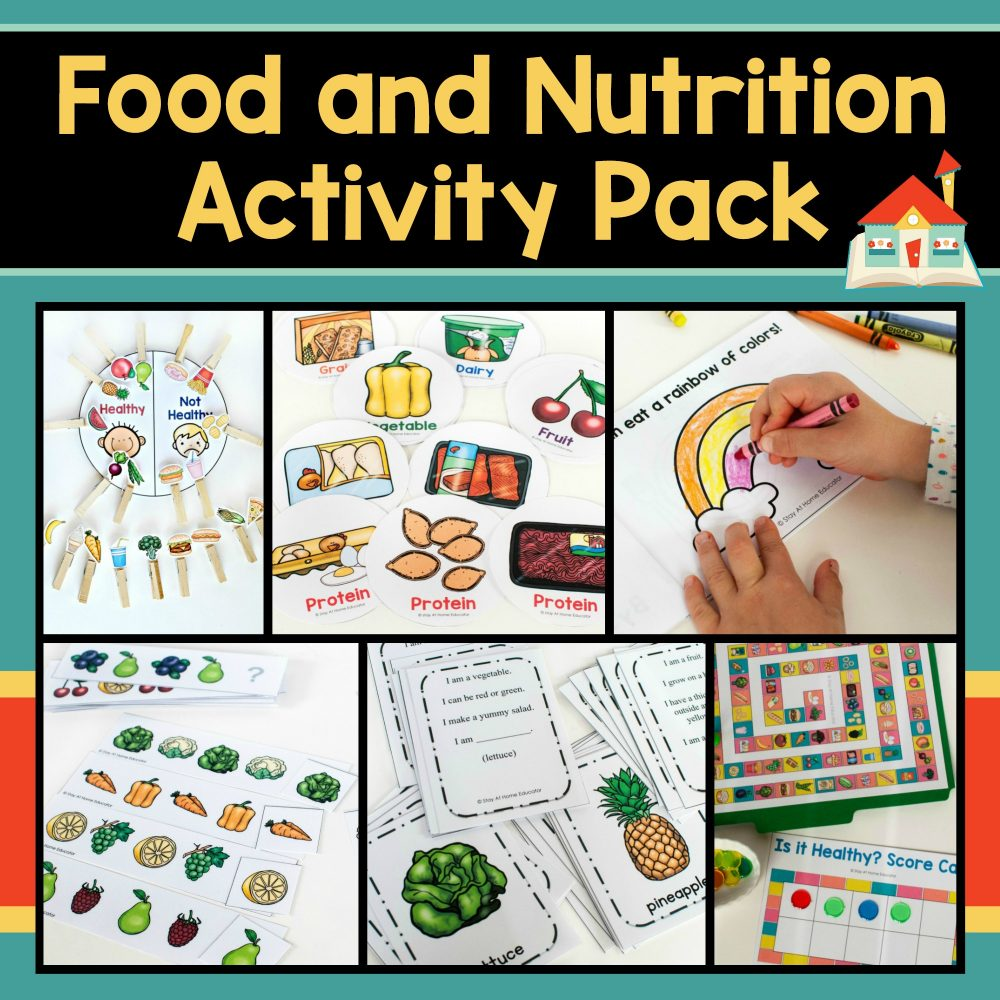 medium resolution of How to Teach Healthy Eating with a Preschool Nutrition Theme