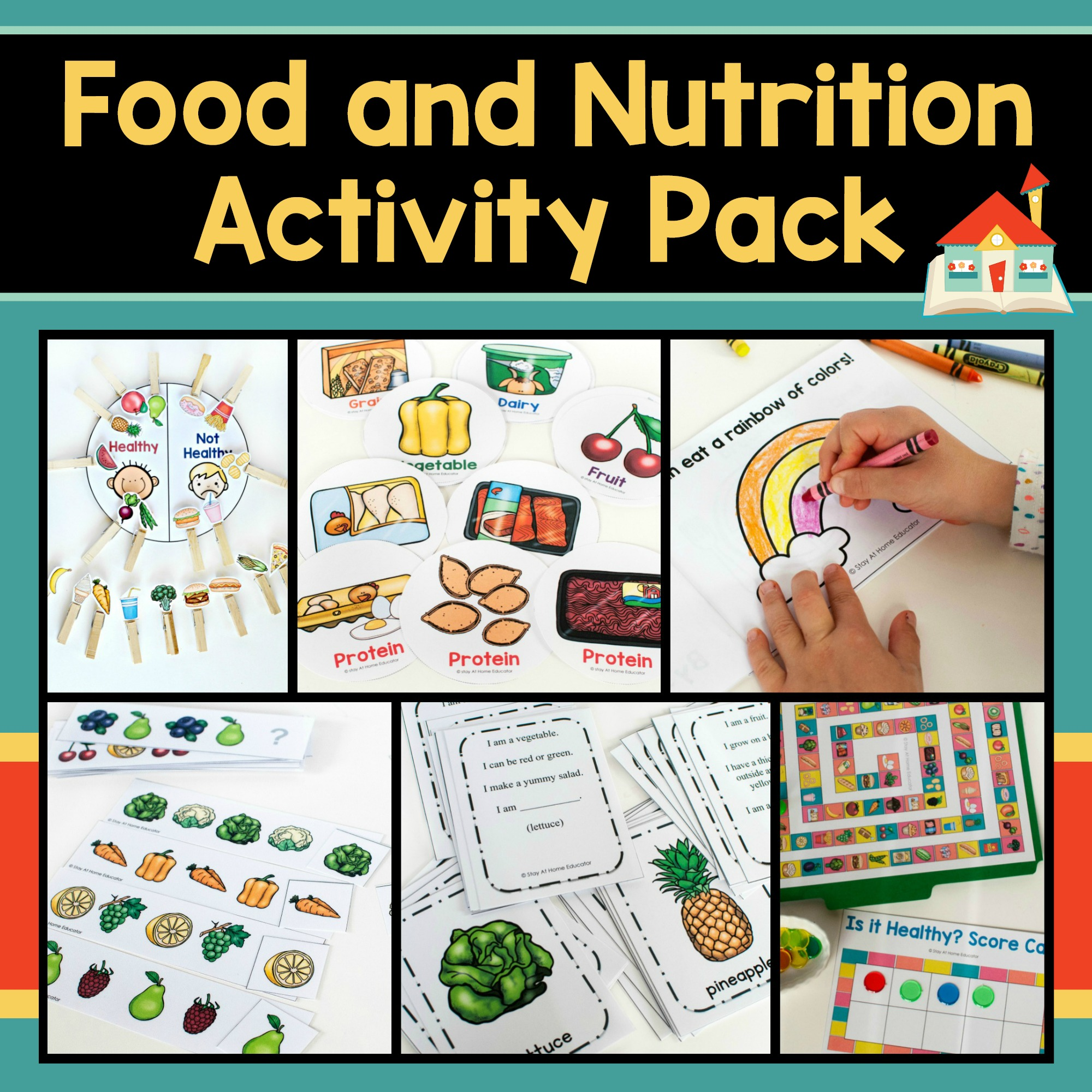 Food Groups Group Meals Abc Preschool T