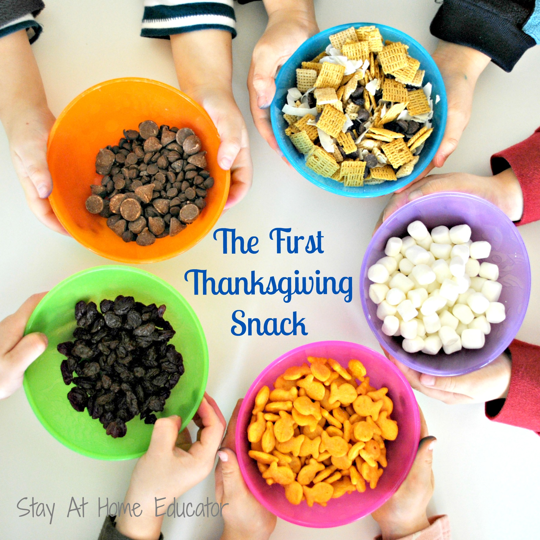 The First Thanksgiving Snack