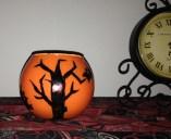 halloween candle,
