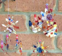 Sun catcher kids craft.