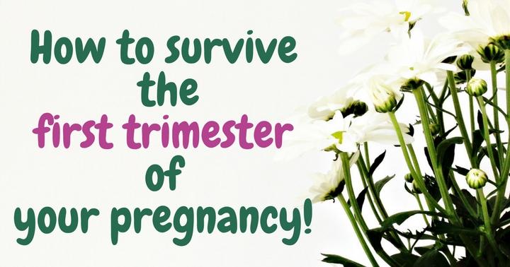 Το πρωτο τριμηνο της εγκυμοσυνης και εσυ!