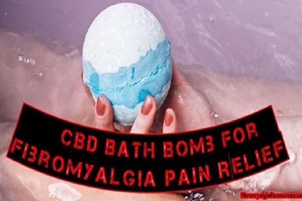 Bombe de bain CBD contre la douleur et les douleurs musculaires dues à la fibromyalgie