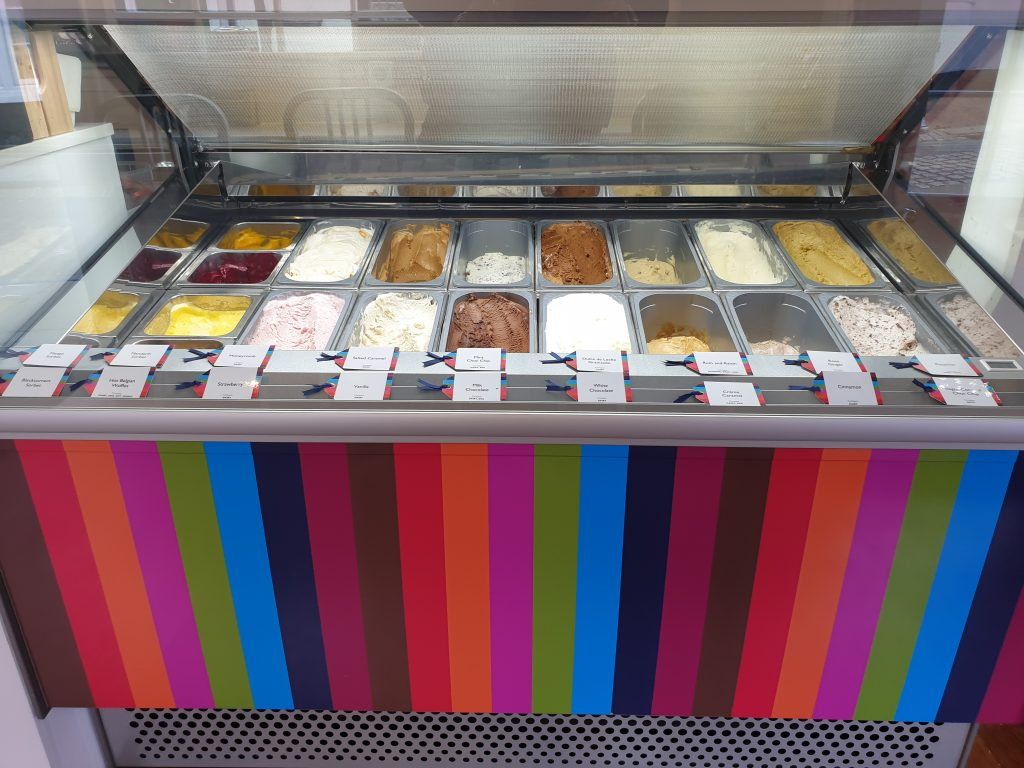 One of Godalming High Street Latest offerings Godalming delights will be serving up ice cream and sorbet.