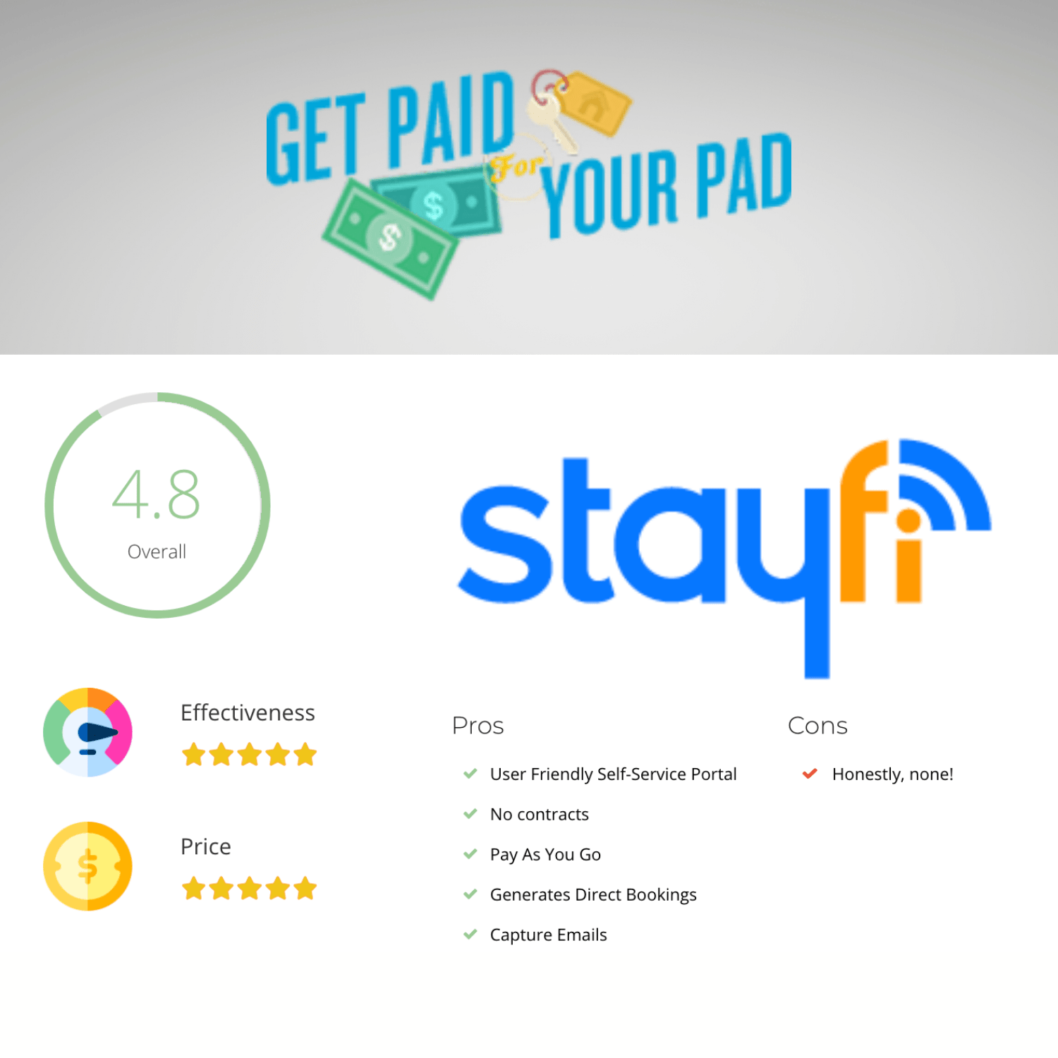 Get Paid For Your Pad StayFi