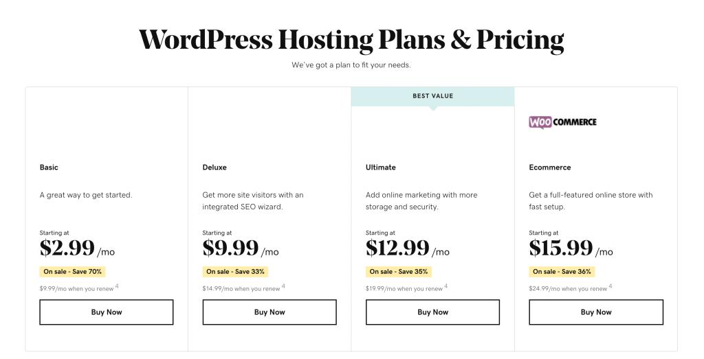 Vacation Rental Website WordPress Hosting
